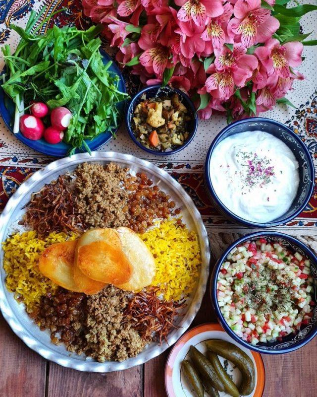 Adas Polo Recipe   UNIQOP   Persian Grocery Store