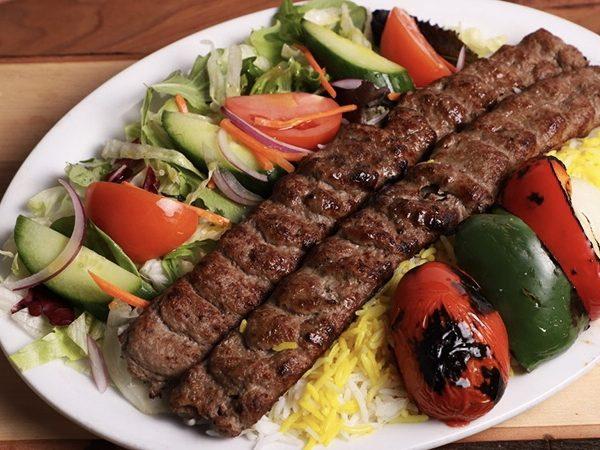 Chelow Kabab Koobideh