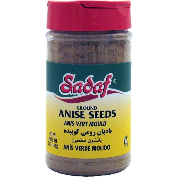 Sadaf Anise Seeds Ground 5 oz.