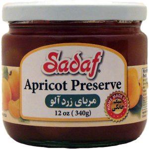 Sadaf Apricot Preserve 12 oz.