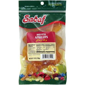 Sadaf Apricots Dried Pitted 7 oz.
