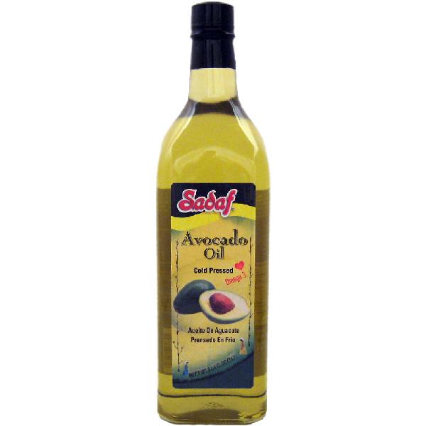 Sadaf Avocado Oil 1 L Cold Pressed
