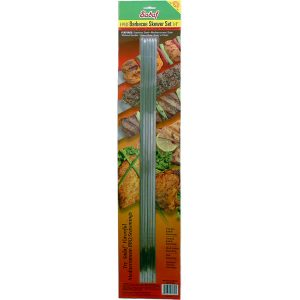 Sadaf BBQ Skewers Narrow - No Handle - Set of 6