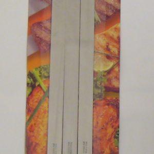 Sadaf BBQ Skewers Wide -Wooden Handle - Set of 3