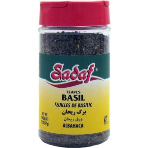 Sadaf Basil Leaves 2 oz.