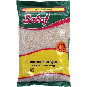 Sadaf Basmati Rice Aged 2 lb