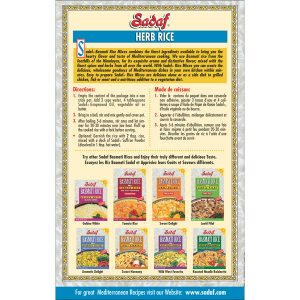 Sadaf Basmati Rice Mix Herb Rice - Sabzi Polo 12-1 oz.