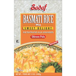 Sadaf Basmati Rice Mix Sweet Delight - Shireen Polo 12 oz.
