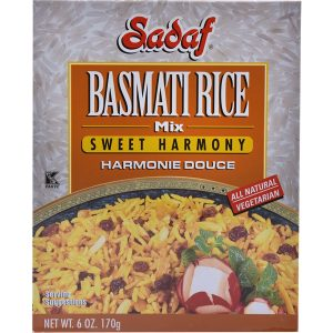 Sadaf Basmati Rice Mix Sweet Harmony 6 oz.