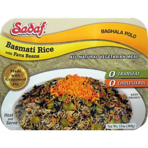 Sadaf Basmati Rice with Fava Beans (Baghala Polo) 13 oz.