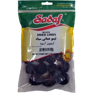 Sadaf Black Dried Limes 4 oz.