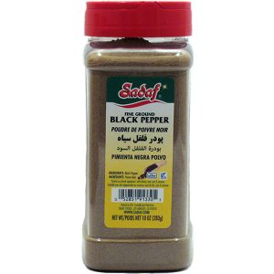 Sadaf Black Pepper Ground Fine 12 oz.