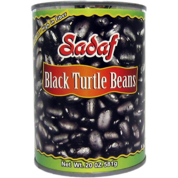 Sadaf Black Turtle Beans 20 oz.