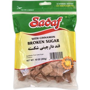 Sadaf Broken Sugar with Cinnamon 10 oz.