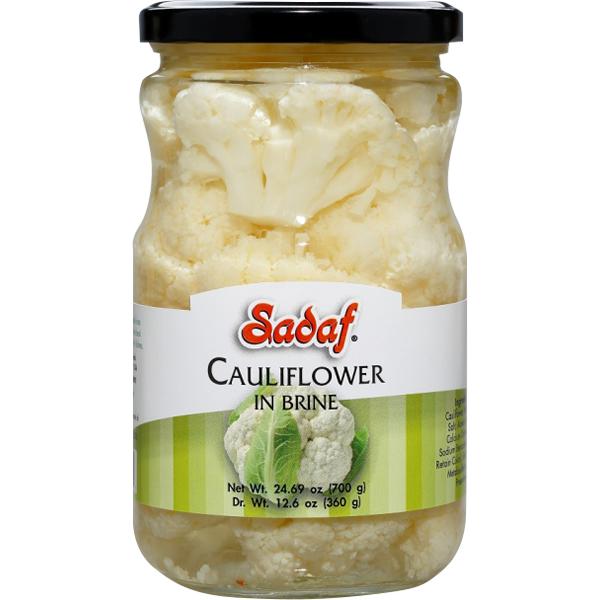 Sadaf Cauliflower in Brine 24.69 oz.
