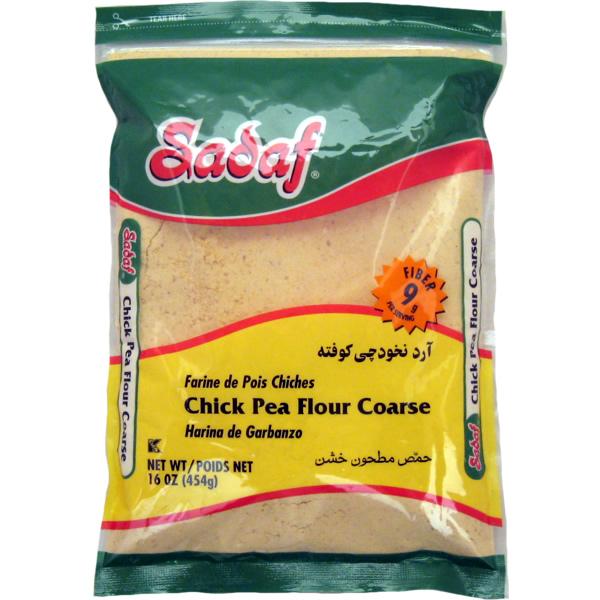 Sadaf Chickpeas Flour - Coarse 16 oz.