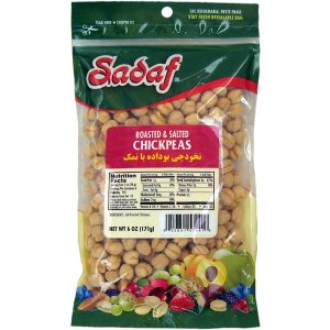 Sadaf Chickpeas Roasted & Salted 6 oz.