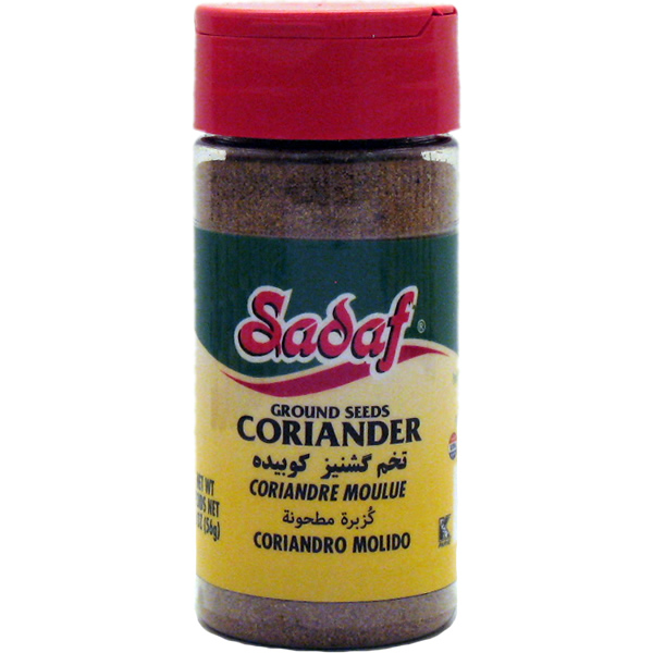 Sadaf Coriander Seeds, Ground 2 oz.