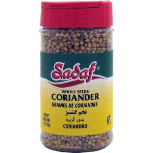 Sadaf Coriander Whole Seeds 3 oz.