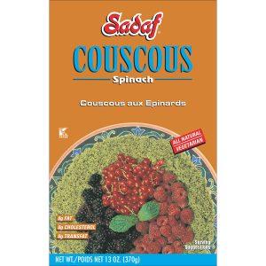 Sadaf Couscous Spinach 13 oz.