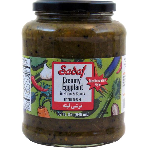 Sadaf Creamy Eggplant - Litteh Torshi 32 fl. oz.