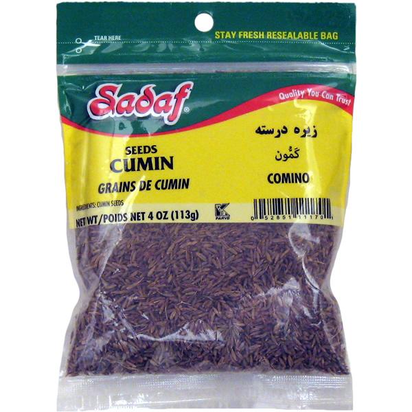 Sadaf Cumin Seeds 4 oz.
