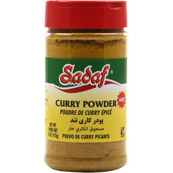 Sadaf Curry Powder Hot 5.0 oz.