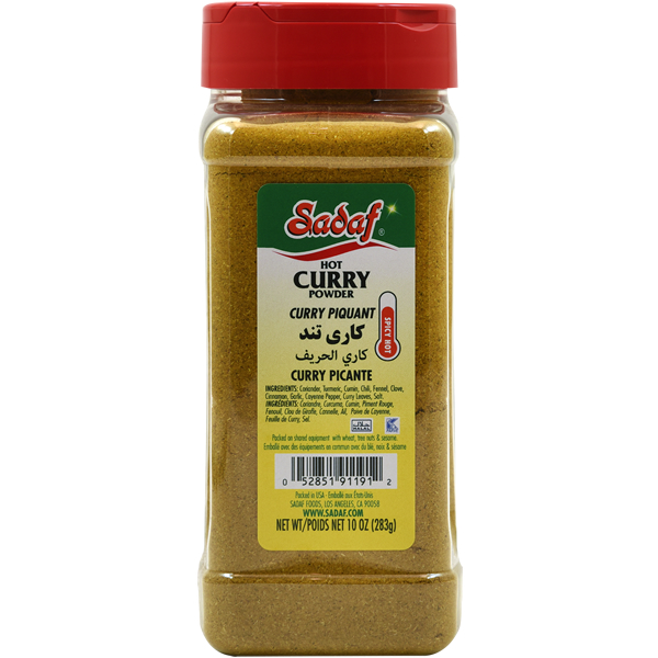 Sadaf Curry powder Hot 10 oz.