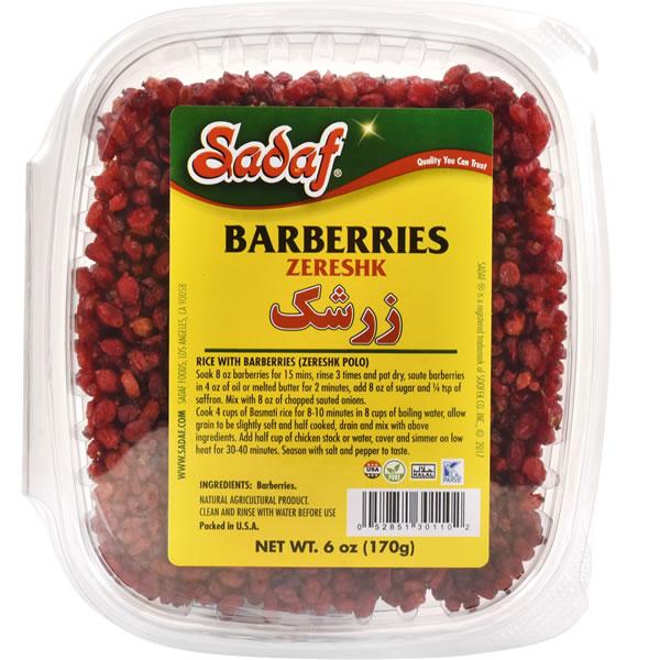 Sadaf Dried Barberries - Zereshk 6 oz.