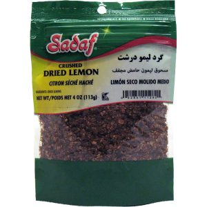 Sadaf Dried Lime Crushed 4 oz.