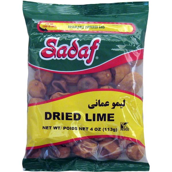 Sadaf Dried Lime, Whole Jumbo 4 oz.