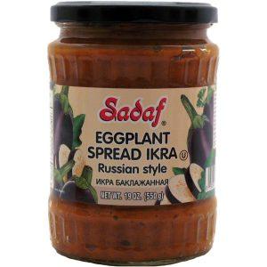 Sadaf Eggplant Spread IKRA Russian Style 19 oz.