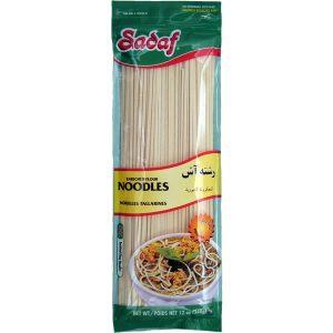 Sadaf Enriched Flour Noodles (Vegetarian) 12 oz.