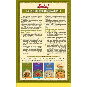 Sadaf Falafel Traditional Mix 12 oz.