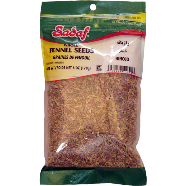 Sadaf Fennel Seeds 6 oz.