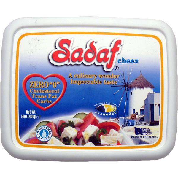 Sadaf Feta Cheez 0 Cholesterol 400 gr