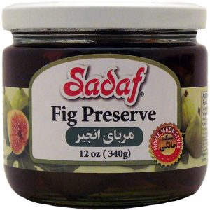 Sadaf Fig Preserve 12 oz.