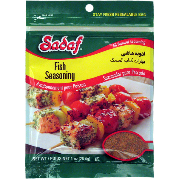 Sadaf Fish Seasoning 1 oz.