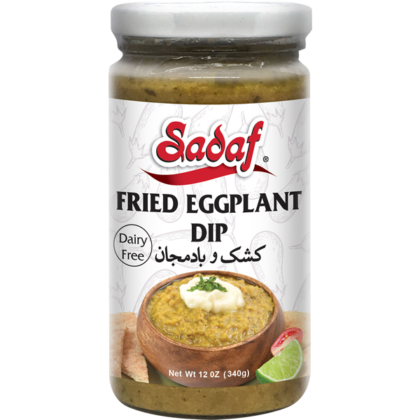 Sadaf Fried Eggplant Dip (Kashk Bademjan) 12 oz.