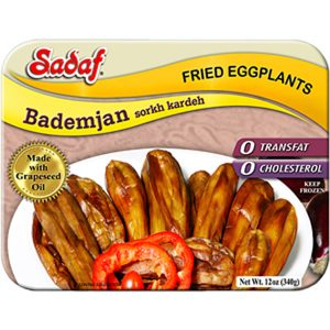 Sadaf Fried Eggplants - Bademjan sorkh kardeh 12 oz.