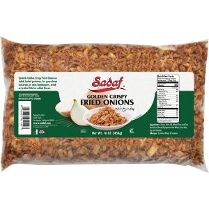 Sadaf Fried Onions Golden Crispy 16 oz.