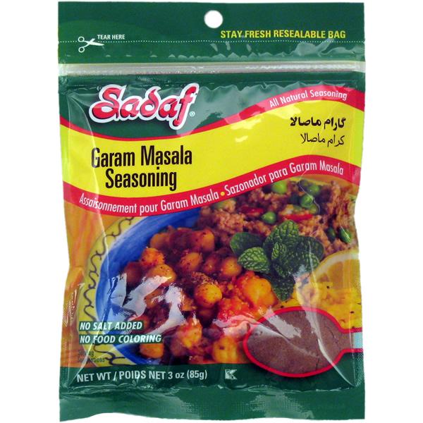 Sadaf Garam Masala Seasoning 3 oz.