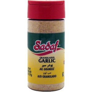 Sadaf Garlic Granulated 2.80 oz.