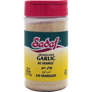 Sadaf Garlic Granulated 7.5 oz.