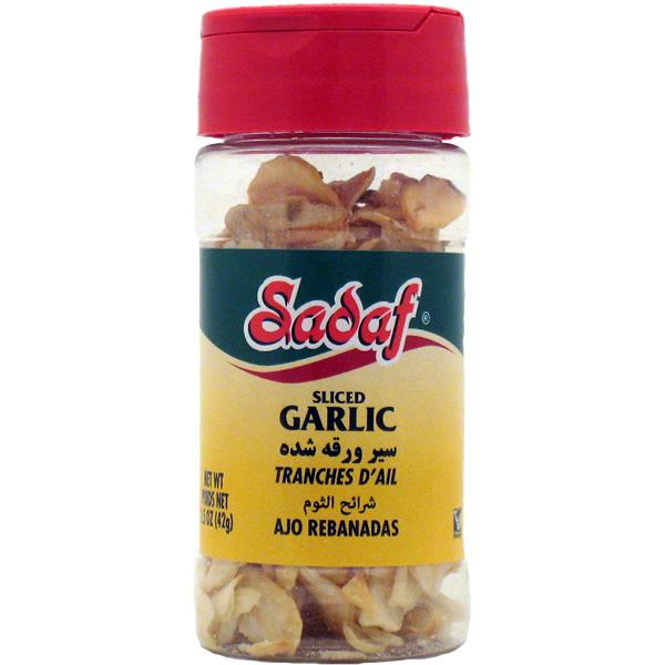 Sadaf Garlic Sliced 1.5 oz.