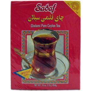 Sadaf Ghalami Pure Ceylon Tea 16 oz.