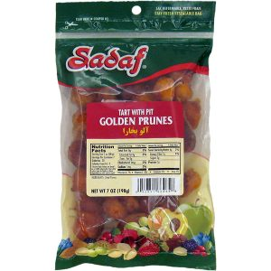 Sadaf Golden Prunes - Tart with Pit 7 oz.