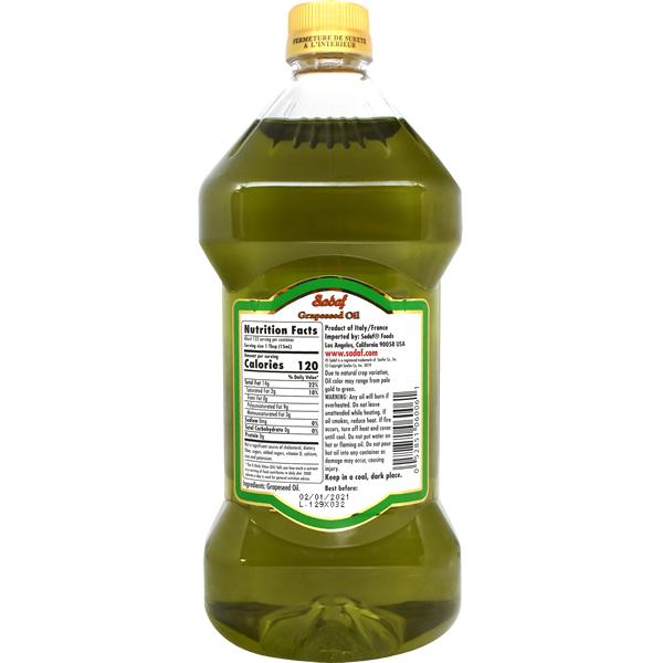 Sadaf Grapeseed Oil 2 L-1