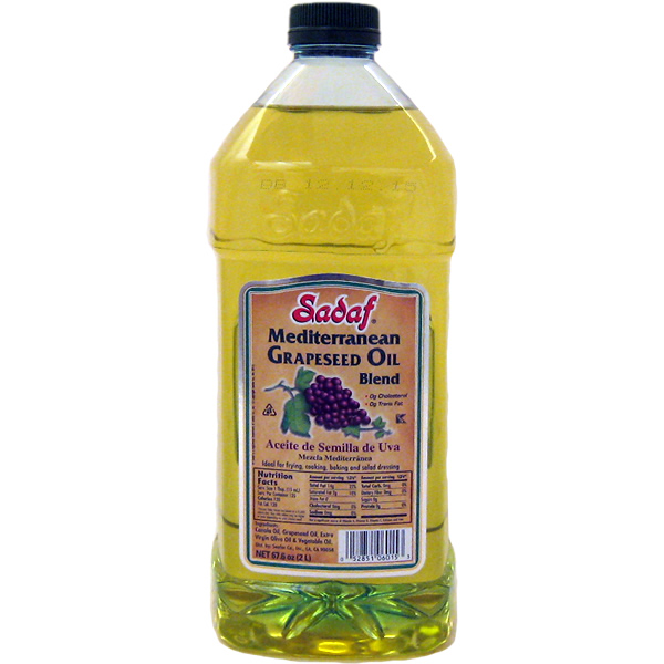 Sadaf Grapeseed oil Mediterranean Blend 2 L