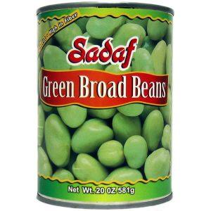 Sadaf Green Broad Beans 20 oz.